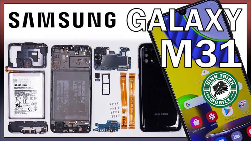Giải pháp sửa điện thoại Samsung Galaxy M31 vô nước