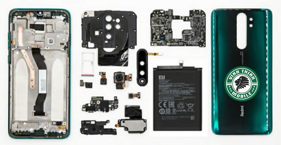 Lưu ý sửa Xiaomi Redmi Note 8 Pro vô nước