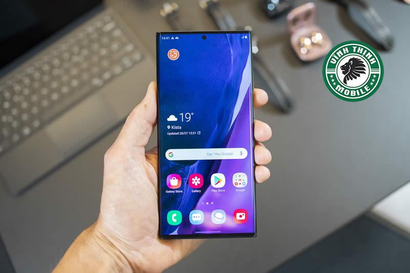 Lưu ý thay mặt kính Samsung Galaxy Note 20 Ultra tại Sửa chữa Vĩnh Thịnh
