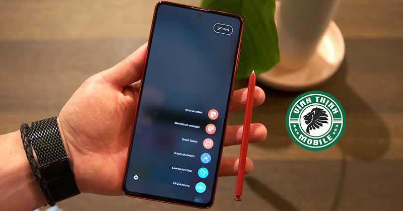 Thay màn hình Samsung Galaxy Note 10 Lite tại Sửa chữa Vĩnh Thịnh