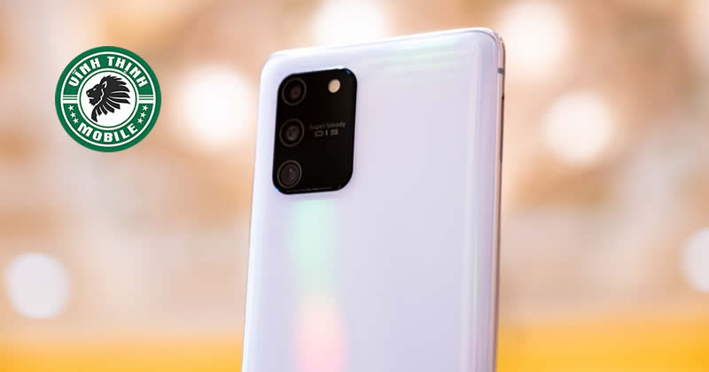 Thay mặt kính camera Samsung Galaxy S10 Lite