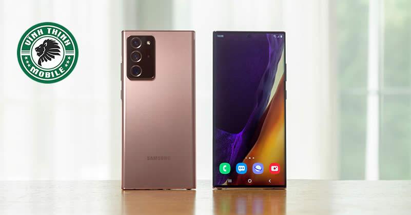 Thay mặt kính Samsung Galaxy Note 20 Ultra tại Sửa chữa Vĩnh Thịnh