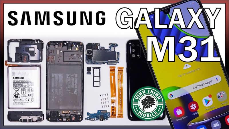 Lưu ý sửa Samsung Galaxy M31 vô nước