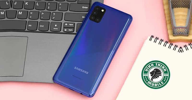 Thay nắp lưng Samsung Galaxy A31 tại Sửa chữa Vĩnh Thịnh