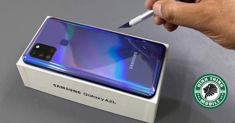 Thay vỏ Samsung Galaxy A21s tại Sửa chữa Vĩnh Thịnh