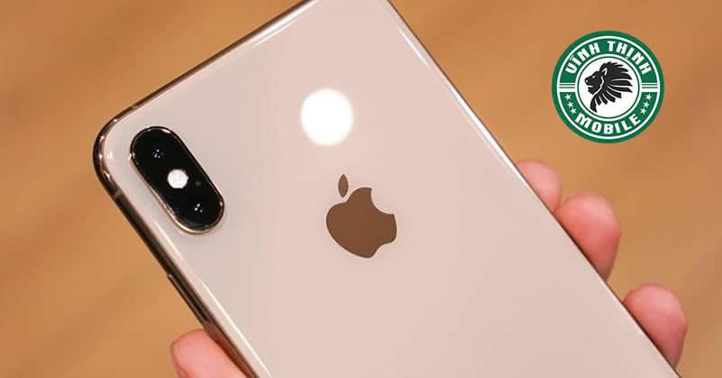 Thay kính camera iPhone XS tại Sửa chữa Vĩnh Thịnh