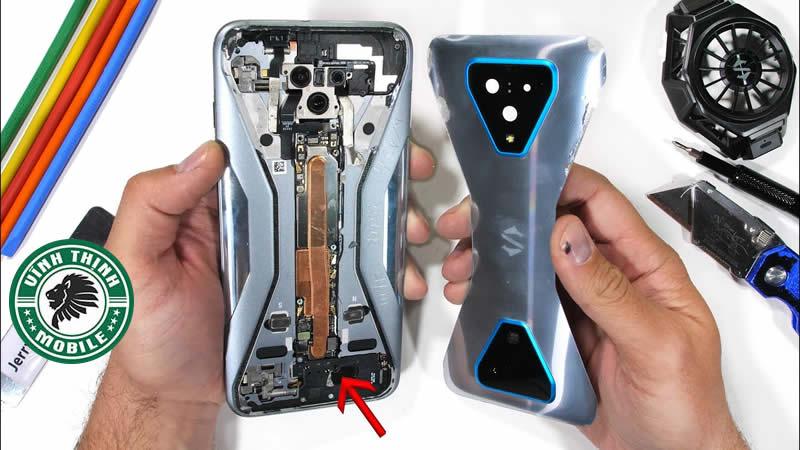 Lưu ý thay chân sạc Xiaomi Black Shark 3