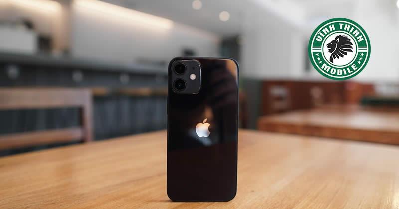 Thay mặt kính camera iPhone 12 Mini