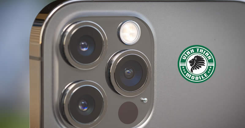 Thay mặt kính camera iPhone 12 Pro