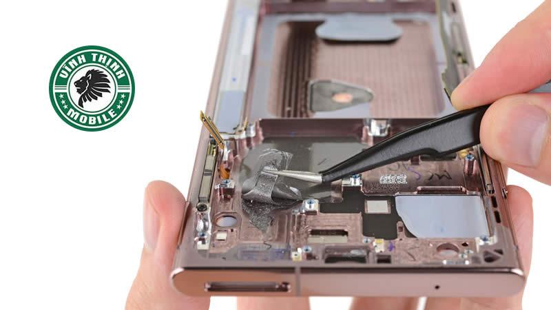 Lưu ý sửa điện thoại Samsung Galaxy Note 20 mất nguồn