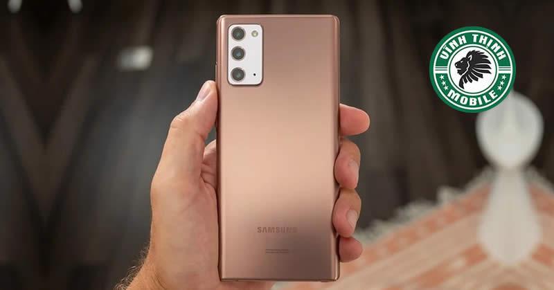 Sửa Samsung Galaxy Note 20 vô nước