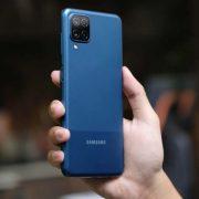 Thay màn hình Samsung Galaxy A12 tại Sửa chữa Vĩnh Thịnh