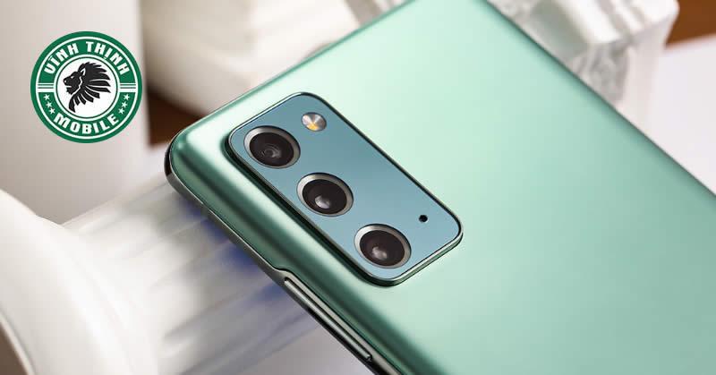 Thay mặt kính camera Samsung Galaxy Note 20