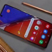Thay mặt kính Samsung Galaxy Note 20 tại Sửa chữa Vĩnh Thịnh