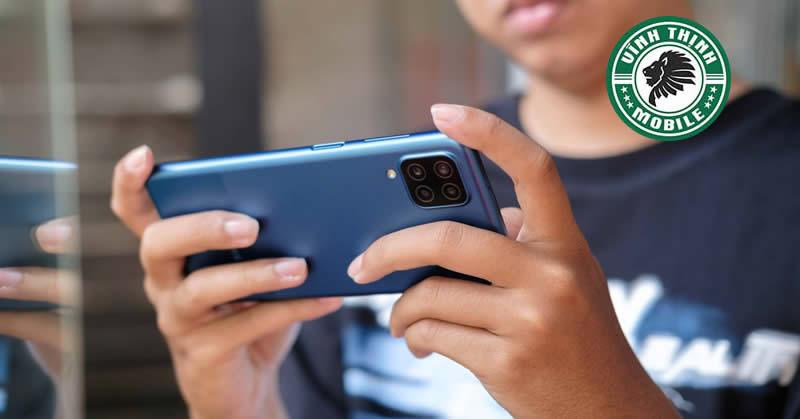 Sửa điện thoại Samsung Galaxy A12 tại Sửa chữa Vĩnh Thịnh