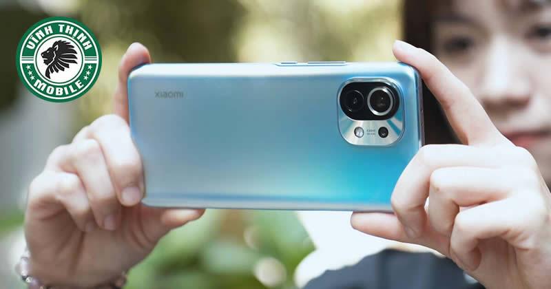 Thay mặt kính camera Xiaomi Mi 11 tại Sửa chữa Vĩnh Thịnh