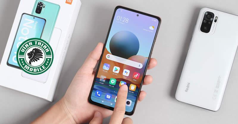 Thay mặt kính Xiaomi Redmi Note 10 tại Sửa chữa Vĩnh Thịnh
