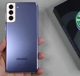 Thay nắp lưng Samsung Galaxy S21