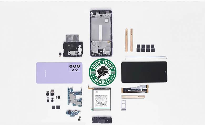 Lưu ý sửa điện thoại Samsung Galaxy A52 vô nước