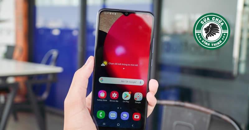 Sửa Samsung Galaxy A02s mất sóng tại Sửa chữa Vĩnh Thịnh